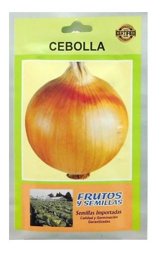 2 Sobre  Semillas De Cebolla 25g Texas 502 Importada