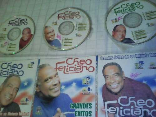 3cd Colección Grandes Éxitos Historia Musical Cheo