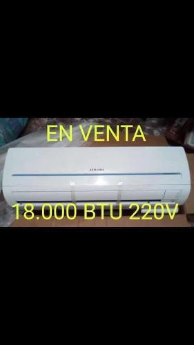 Aire Acondicionado Split Samsung 18.000 Btu 220 Voltios