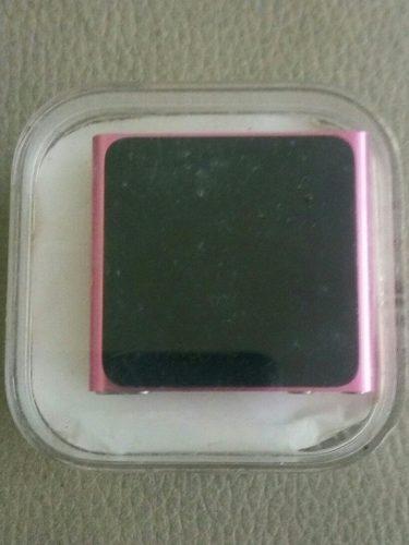 Apple iPod Nano 6 Generacion 8gb De Memoria Rosado Audifono