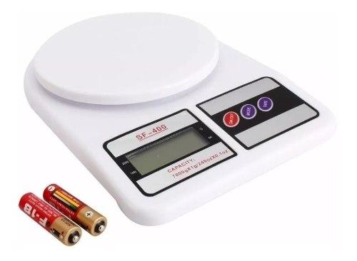 Balanza Peso Digital Cocina 7kg X 1gr Batería Portátil
