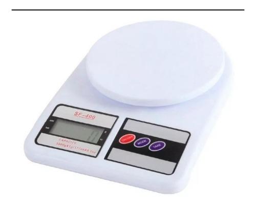 Balanza Peso Digital De Cocina Hasta 10 Kg Por 1 Gr
