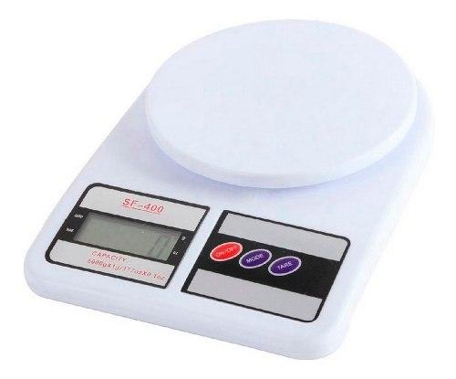 Balanza Peso Digital De Cocina Hasta 10kg X 1g Somos Tienda