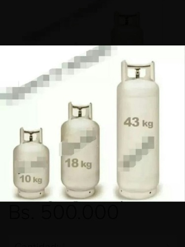 Bombona De Gas Domestico Llena Y Vacías  Y 10 Kilos