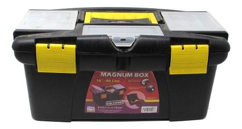 Caja De Herramientas 16 Pulgadas X 40 Cm. Magnum Box