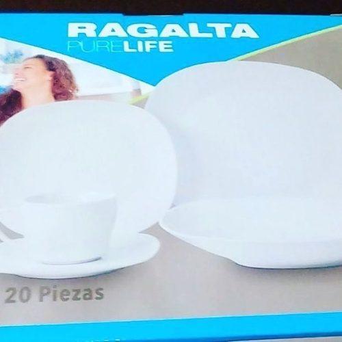 Juego De Vajilla Ragalta 20 Piezas