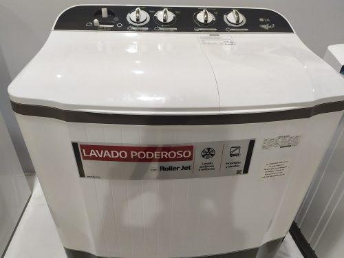 Lavadora Semi Automática Lg Doble Tina 8 Kg