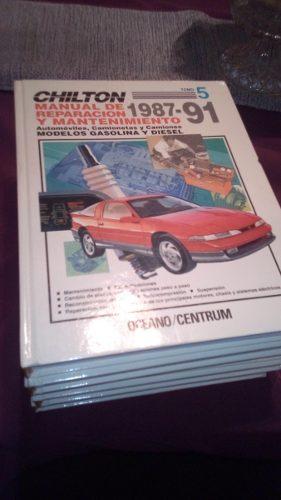 Libros (5) De Chilton. Manual De Reparación Y Mantenimiento