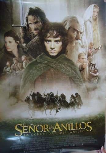 Póster Original De Cine El Señor De Los Anillos Año