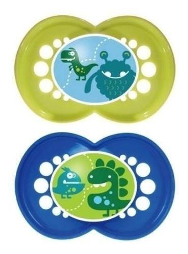 Set De Chupones Mam Ortodontico Bebes Niños Chupon Monster