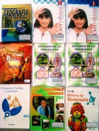 Textos Escolares De 1er Año Educación Media