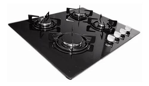 Tope De Cocina 4 Hornillas Vitroceramica De 60cm A Gas