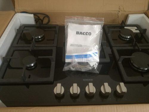 Tope De Cocina A Gas 75 Cm Vitroceramica Marca Bacco
