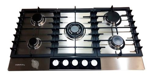 Tope De Cocina A Gas De 90 Cm Acero Frigilux