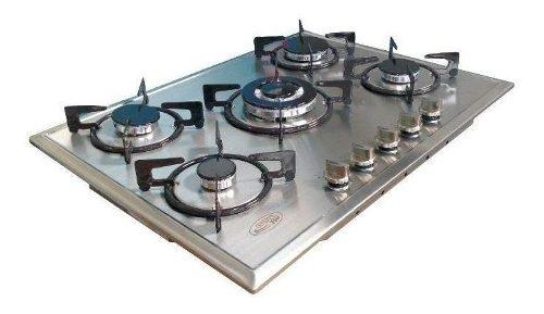 Tope De Cocina Gplus 70 Cm Acero Inox A Gas Premium Frigilux