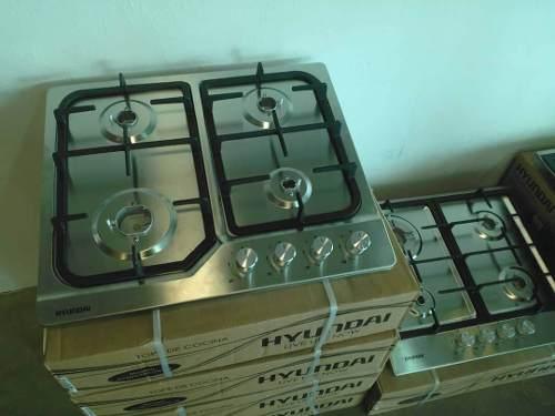 Tope De Cocina Hyundai Acero Inoxidable De Lujo 60cm Nuevo