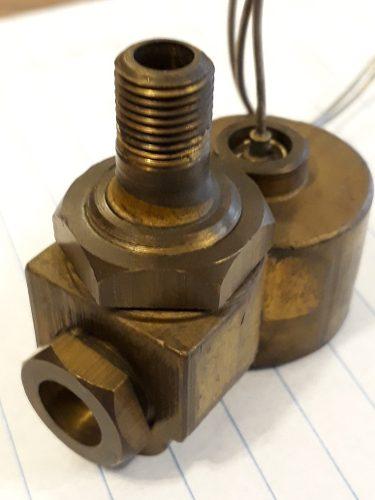 Valvula De Seguridad Para Horno Cocina Gas 1/8npt X 3/8 Sae