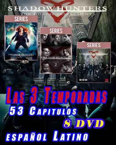 Cazadores De Sombras. Shadowhunters 3 Temporadas Esp Lat