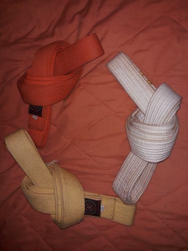 Cinturones Karate, Judo, Taekwondo