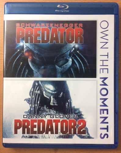 Depredador Y Depredador 2. Blu Ray.original