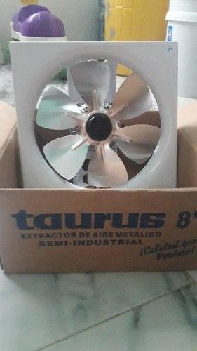 Extractor De Aire Marca Taurus De Metal 8 Pulgadas Oferta