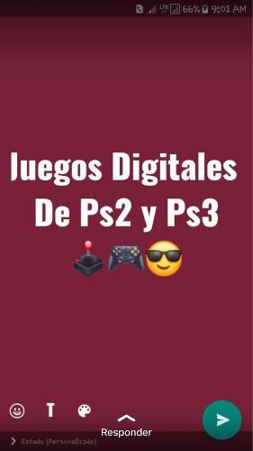 Juegos Digitales Para Playstation 2 Y 3 Somos Tienda Fisica
