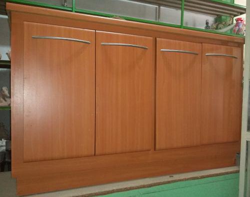 Mueble En Madera Tipo Ceibo Horizontal 4 Puertas