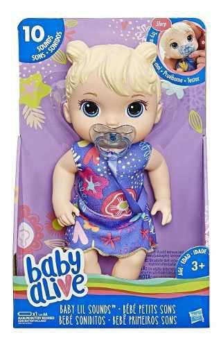 Muñeca Baby Alive Lil Soniditos