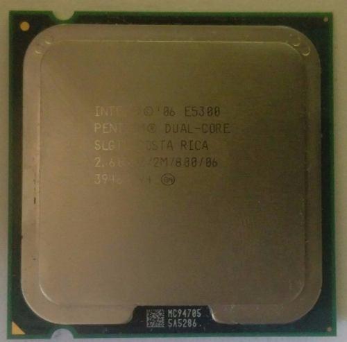 Procesador Dual Core E, Usado (5$)