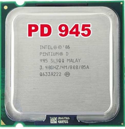 Procesador Pentium D ghz Caché 4m,bus 800mhz