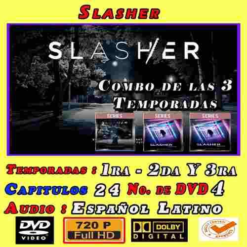 Slasher Combo Tres Temporadashd 720p Latino Dual