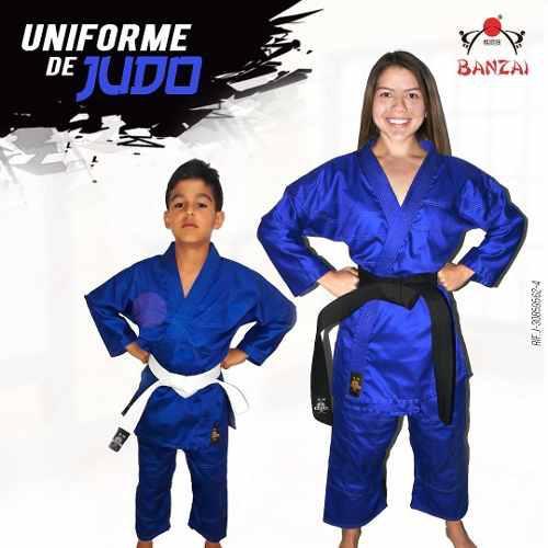 Uniforme De Judo Semi Pesado O 10 Onzas Talla 6