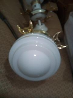Ventilador De Techo Decorativo Con Lámpara