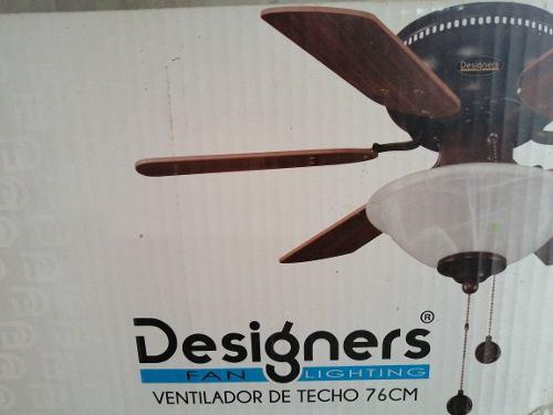 Ventilador Decorativo De Techo