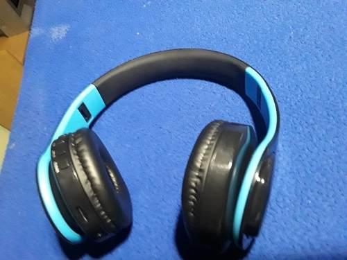 Audífonos Portátiles Bluetooth, Mp3,radio, Tarjeta Para Sd