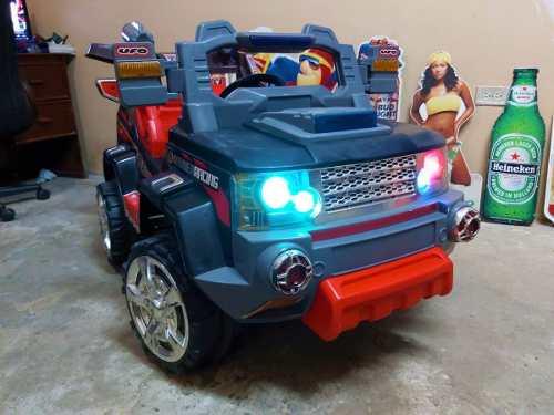 Camion De Bateria Para Niño Prende Luces,sonidos Y Para Mp3