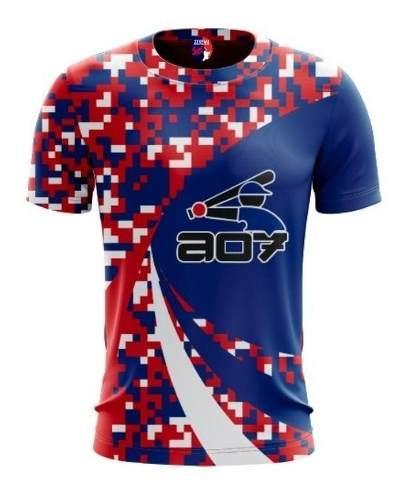 Camisas Para Softball, Beisbol Sublimadas En Alta Resolucion