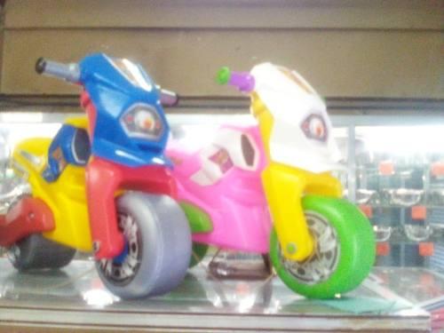 Carrito Montable En Forma De Moto Para Niños Y Niñas