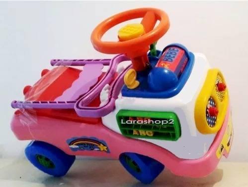 Carritos Carros Montables Juguete Bebe Niños Niñas Famosa