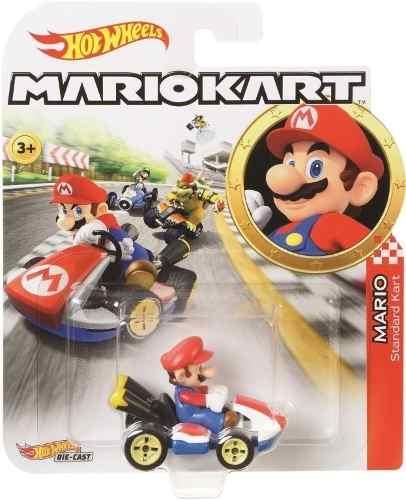 Carro Hot Wheels Mario Kart Para Pista Original Oferta
