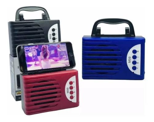 Corneta Inalambrica Bluetooth Pendrive Memoria Y Radio Fm 9v