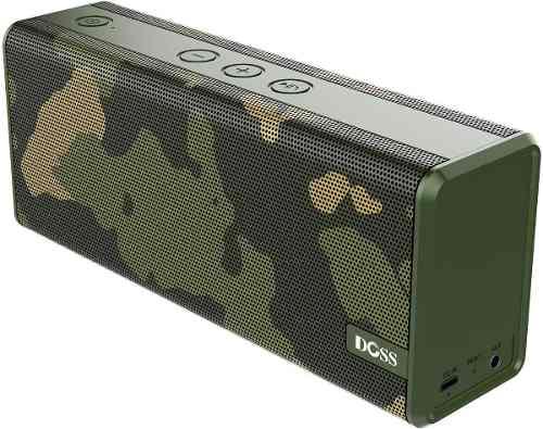 Corneta Parlante Speaker Bluetooth Portátil Marca Doss Camo