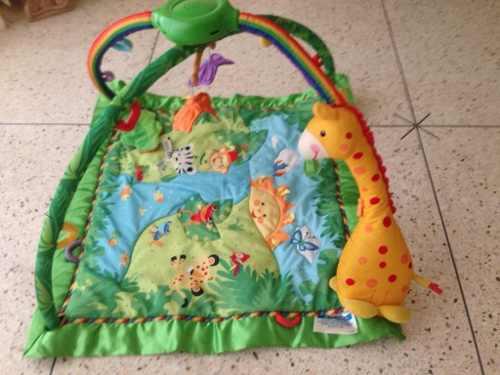 Gimnasio Baby Gym De Fisher Price Con Luces Musica Y Sonidos