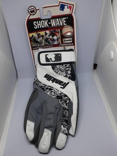 Guantines De Beisbol Originales Franklin Talla M Shok-wave