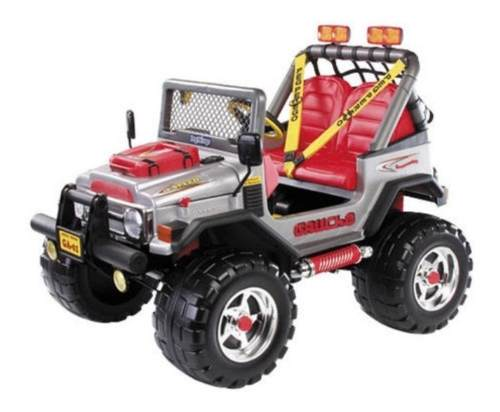 Jeep Eléctrico Para Niños Gaucho Rock