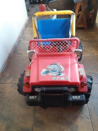 Jeep Para Niños, Usado Buen Estado,,,