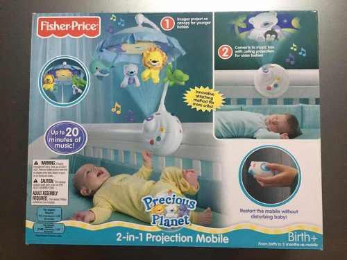 Movil Fisher Price Con Proyección De Imagenes 2 En 1 Usado