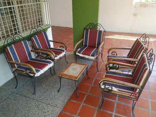 Juego De Muebles Para Jardín O Porche De 5 Puestos