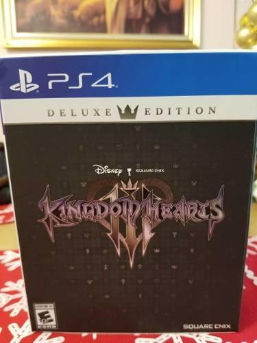 Juego Ps4 Kingdom Hearts 3 Deluxe Edition