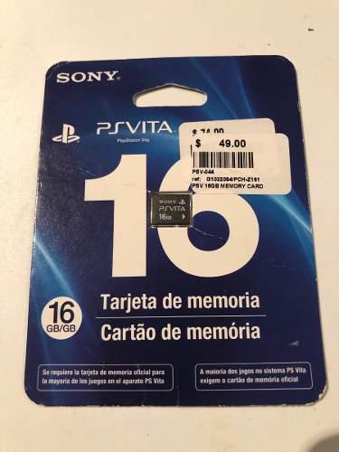 Ps Vita Memoria De 16 Gb Nueva